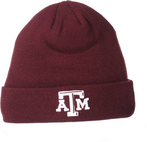 Zephyr Men's Texas A&M Aggies Maroon Cuffed Knit Beanie product image
