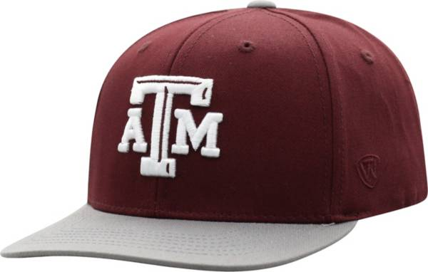 Top of the World Youth Texas A&M Aggies Maroon Maverick Adjustable Hat product image