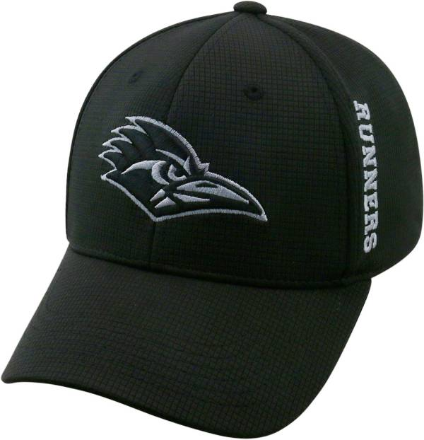 Top of the World Men's UT San Antonio Roadrunners Booster Plus 1Fit Flex Black Hat product image
