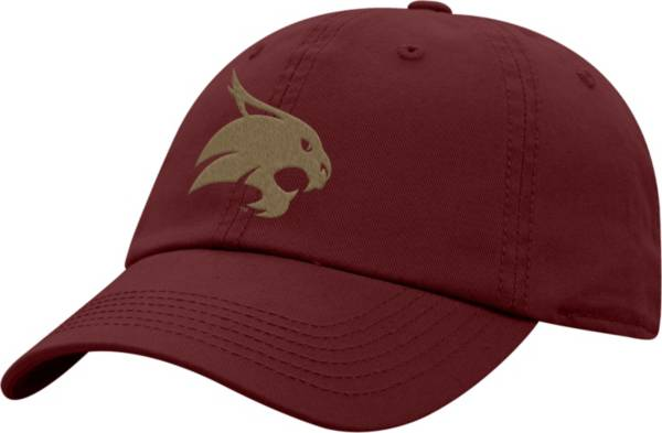 Top of the World Men's Texas State Bobcats Maroon Crew Washed Cotton Adjustable Hat product image