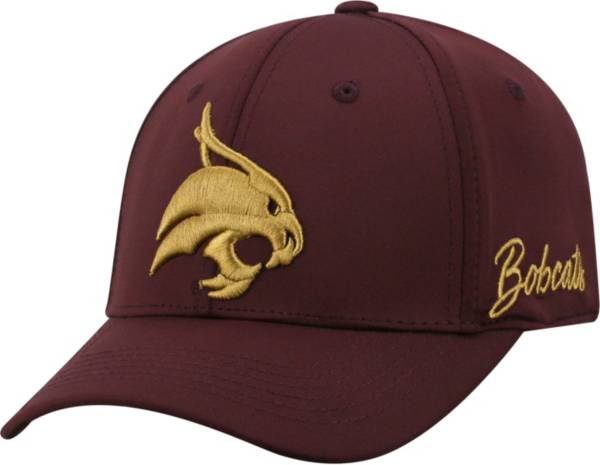 Top of the World Men's Texas State Bobcats Maroon Phenom 1Fit Flex Hat product image
