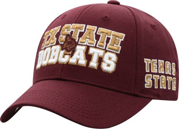 Top of the World Men's Texas State Bobcats Maroon Teamwork Adjustable Hat product image