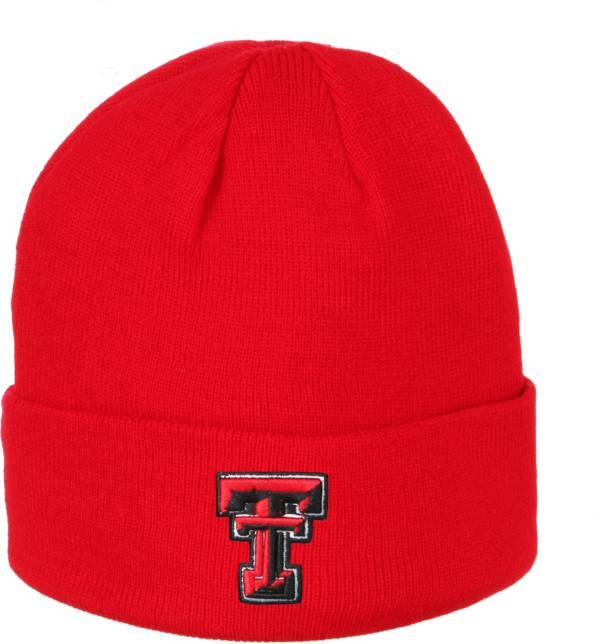 Zephyr Men's Texas Tech Red Raiders Red Cuffed Knit Beanie product image