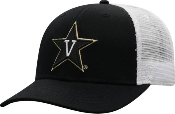 Top of the World Men's Vanderbilt Commodores Black/White BB Two-Tone Adjustable Hat product image
