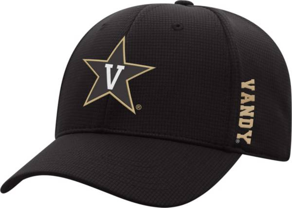 Top of the World Men's Vanderbilt Commodores Booster Plus 1Fit Flex Black Hat product image