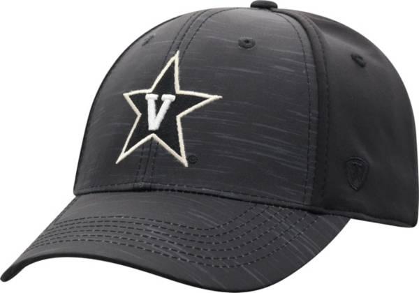 Top of the World Men's Vanderbilt Commodores Intrude 1Fit Flex Black Hat product image