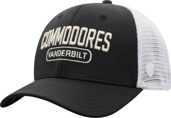 Top of the World Men's Vanderbilt Commodores Notch Adjustable Snapback Black Hat product image