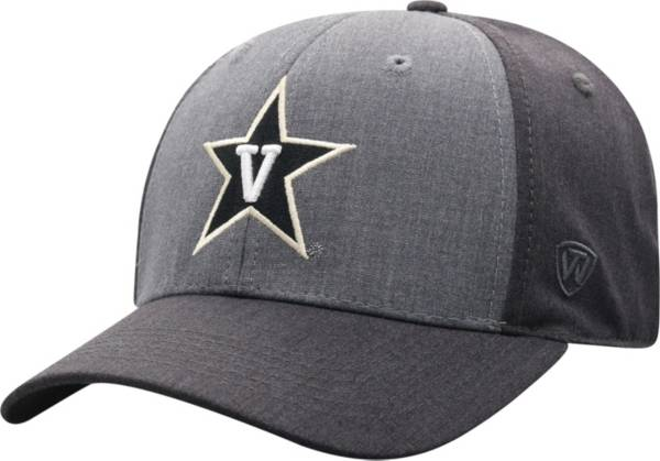 Top of the World Men's Vanderbilt Commodores Grey Powertrip 1Fit Flex Hat product image