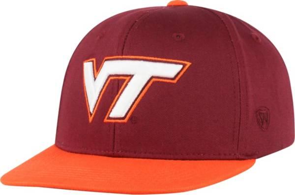 Top of the World Youth Virginia Tech Hokies Maroon Maverick Adjustable Hat product image
