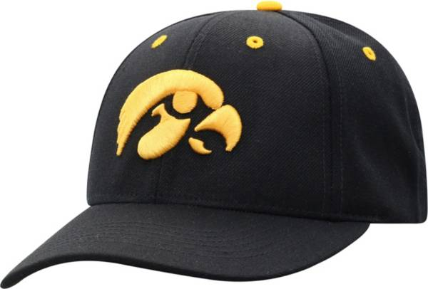 Top of the World Men's Iowa Hawkeyes Triple Conference Adjustable Black Hat product image