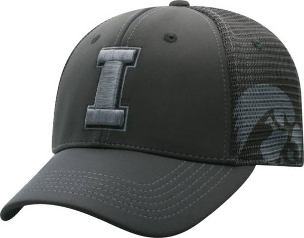 Top of the World Men's Iowa Hawkeyes Dayblaster Nightfall 1Fit Flex Black Hat product image