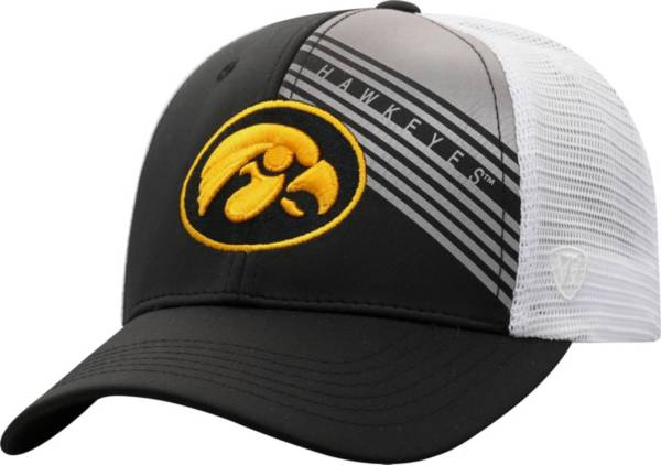 Top of the World Men's Iowa Hawkeyes Timeline Adjustable Black Hat product image