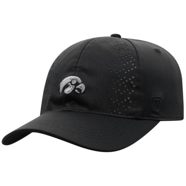 Top of the World Women's Iowa Hawkeyes Focal 1Fit Flex Black Hat product image