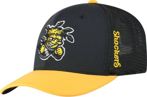 Top of the World Men's Wichita State Shockers Chatter 1Fit Fitted Black Hat product image