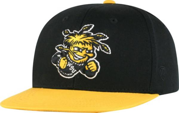 Top of the World Youth Wichita State Shockers Maverick Adjustable Black Hat product image