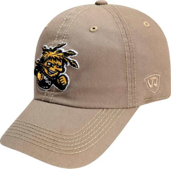 Top of the World Men's Wichita State Shockers Crew Washed Cotton Adjustable White Hat product image