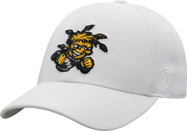 Top of the World Men's Wichita State Shockers Premium 1Fit Flex White Hat product image