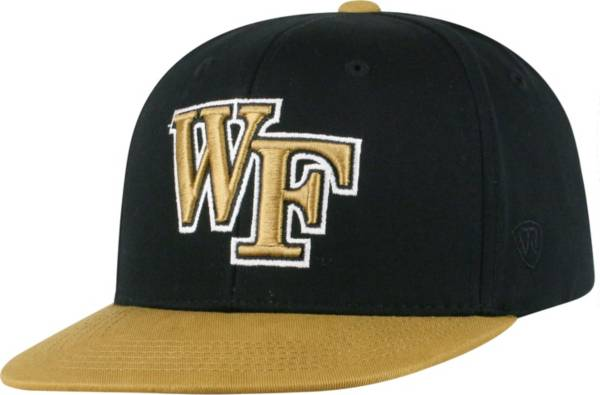 Top of the World Youth Wake Forest Demon Deacons Maverick Adjustable Black Hat product image