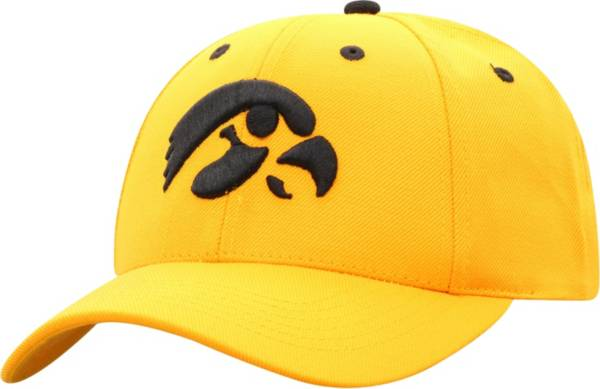 Top of the World Men's Iowa Hawkeyes Gold Triple Conference Adjustable Hat product image