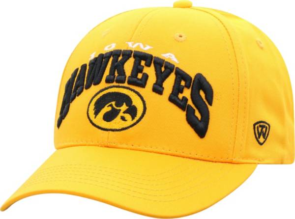 Top of the World Men's Iowa Hawkeyes Gold Whiz Adjustable Hat product image
