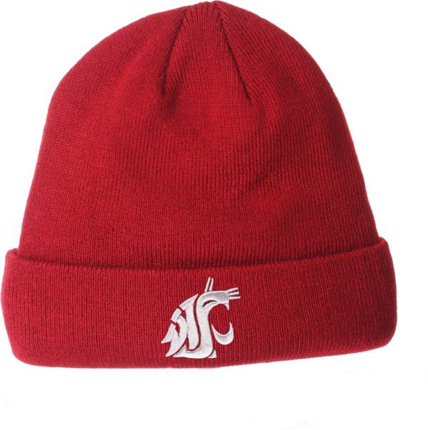 Zephyr Men's Washington State Cougars Crimson Cuffed Knit Beanie product image