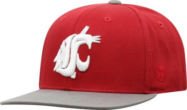 Top of the World Youth Washington State Cougars Crimson Maverick Adjustable Hat product image