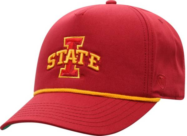 Top of the World Men's Iowa State Cyclones Cardinal Dally Adjustable Hat product image