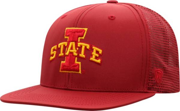 Top of the World Men's Iowa State Cyclones Cardinal Flight Adjustable Hat product image