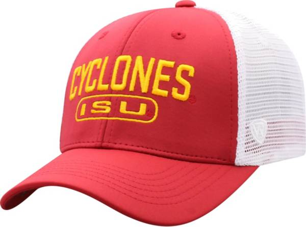 Top of the World Men's Iowa State Cyclones Cardinal Notch Adjustable Snapback Hat product image