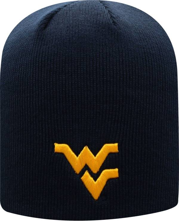 Top of the World Men's West Virginia Mountaineers Blue Classic Knit Beanie product image