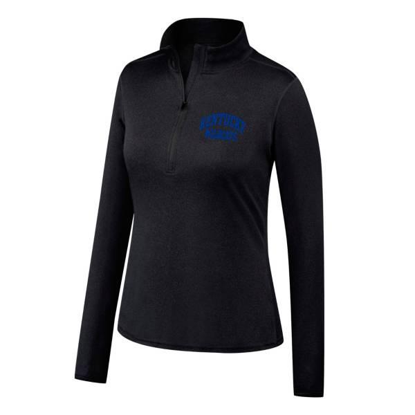 Top of the World Women's Oklahoma Sooners Motion Black Half-Zip Shirt product image