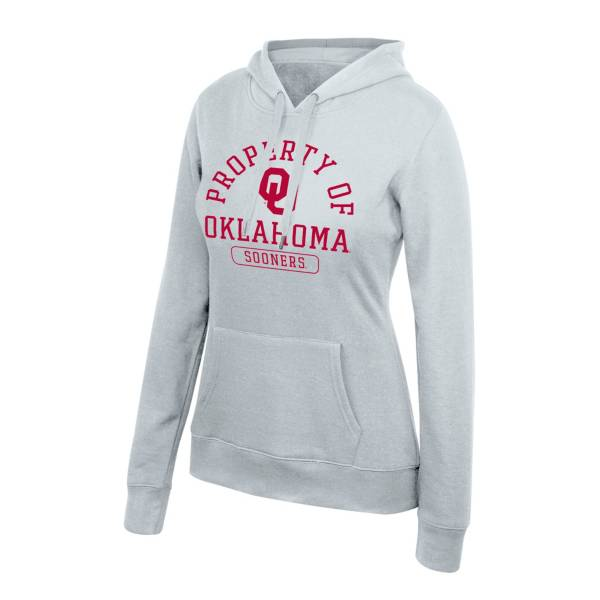 Top of the World Women's Oklahoma Sooners Essential Grey Pullover Sweatshirt product image