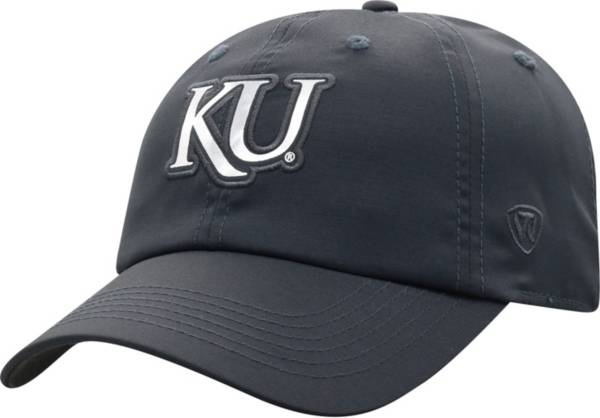 Top of the World Women's Kansas Jayhawks Grey Sparkler Adjustable Hat product image