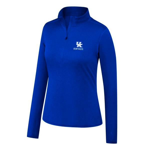 Top of the World Women's Kentucky Wildcats Motion Blue Half-Zip Shirt product image