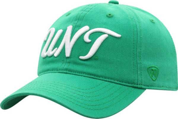Top of the World Women's North Texas Mean Green Green Zoey Adjustable Hat product image