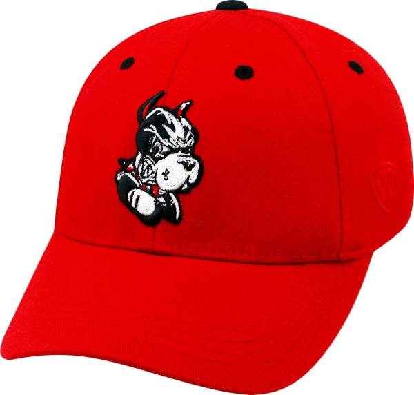 Top of the World Youth Boston Terriers Scarlet Rookie Hat product image