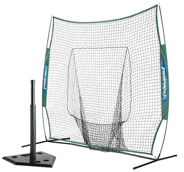 PRIMED 7' Instant Net and 5-Position Rubber Batting Tee Bundle product image
