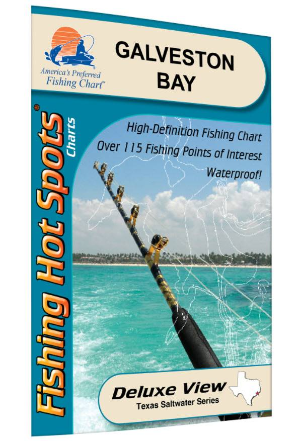 Fishing Hot Spots Galveston Bay product image