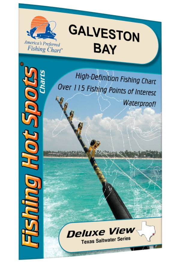 Fishing Hot Spots East Galveston Bay product image