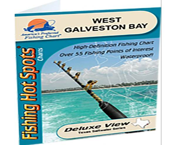 Fishing Hot Spots West Galveston Bay product image