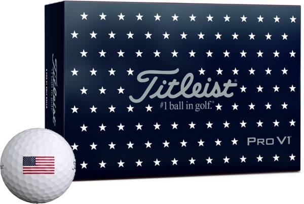 Titleist 2019 Pro V1 USA Golf Balls – 6 Pack product image
