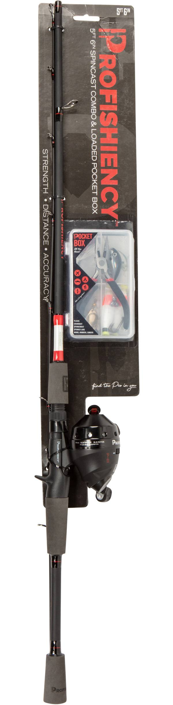 Lil' Anglers Profishiency Youth Spincast Combo product image
