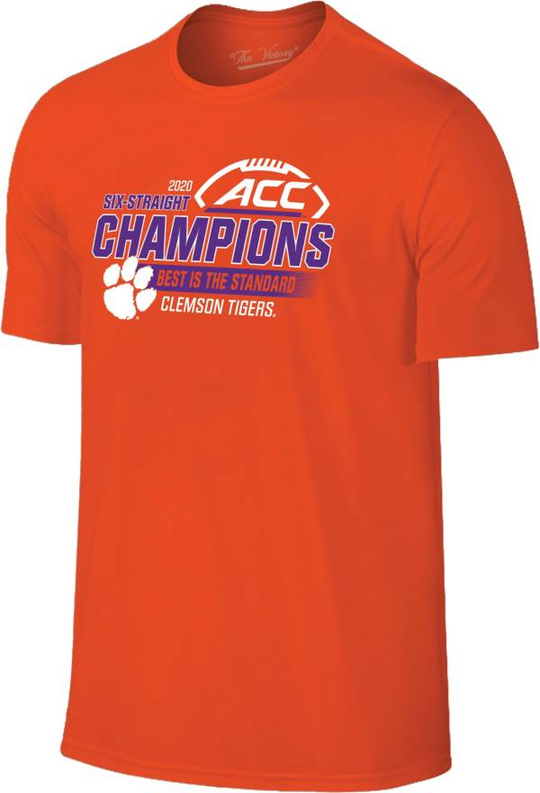 The Victory Men's 2020 ACC Football Champions Clemson Tigers Locker Room T-Shirt product image