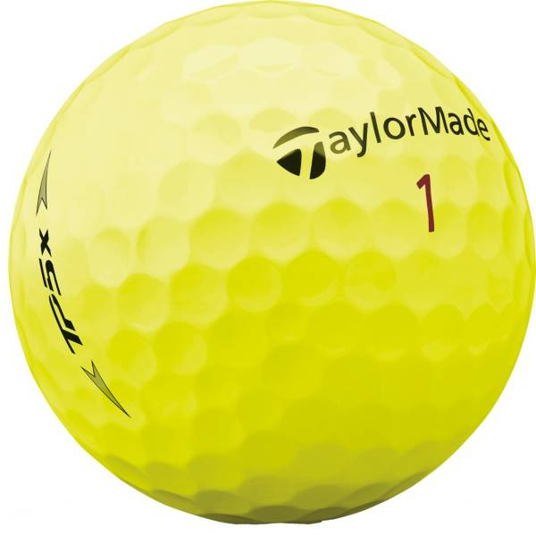TaylorMade 2019 TP5x Yellow Personalized Golf Balls product image