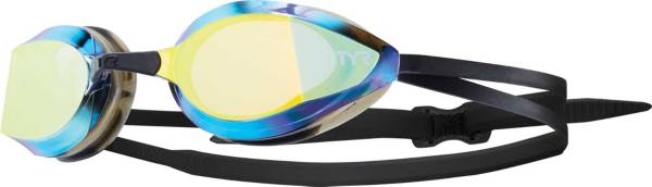 TYR Adult Edge-X Racing Mirrored Nano Fit Goggles product image