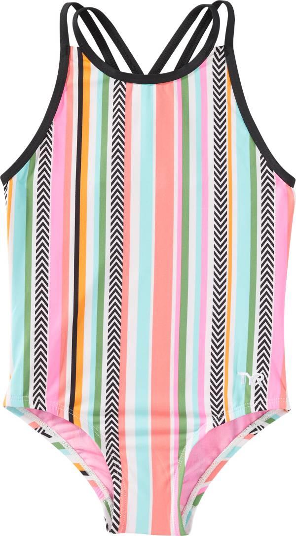 TYR Girls' Peekaboo Oliviafit One Piece Swimsuit product image