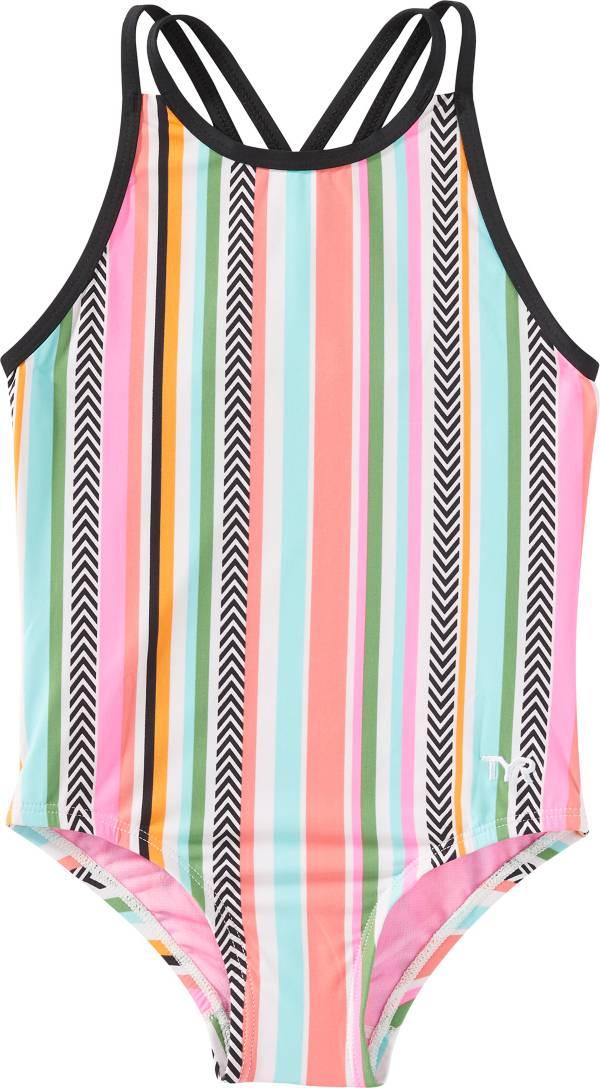 TYR Girls' Peekaboo Oliviafit One-Piece Swimsuit product image