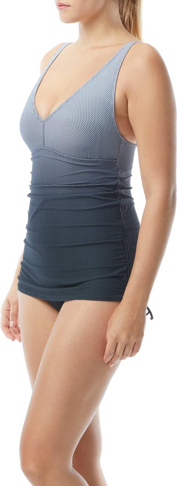 TYR Women's Fishnet V-Neck Sheath Swim Shirt product image