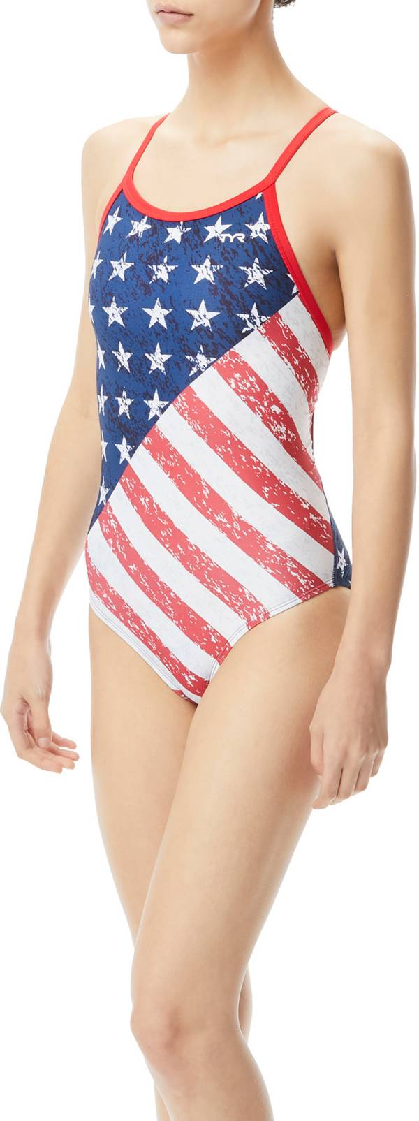 TYR Women's Star Spangled Diamondfit One Piece Swimsuit product image
