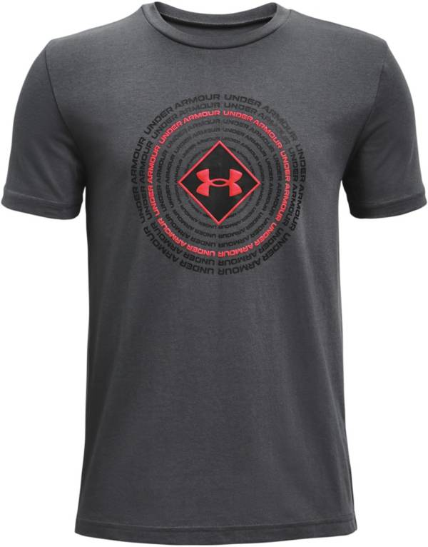 Under Armour Boys' Circle Repeat Short Sleeve T-Shirt product image